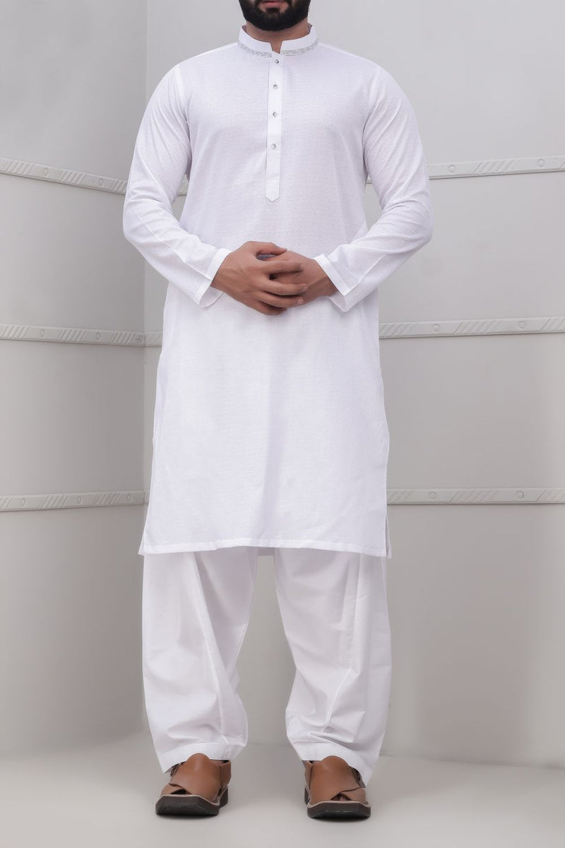 White Kurta for Men RK-40241