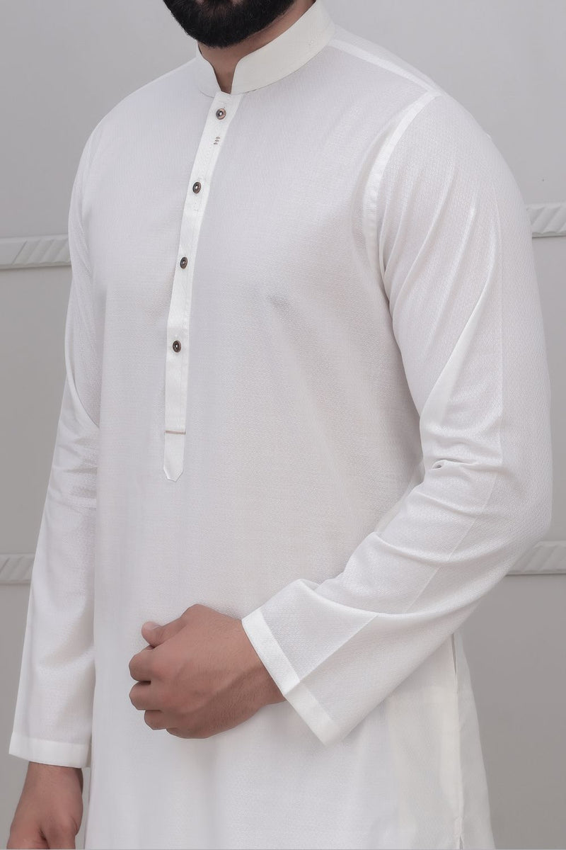 Off White Kurta for Men RK-40242