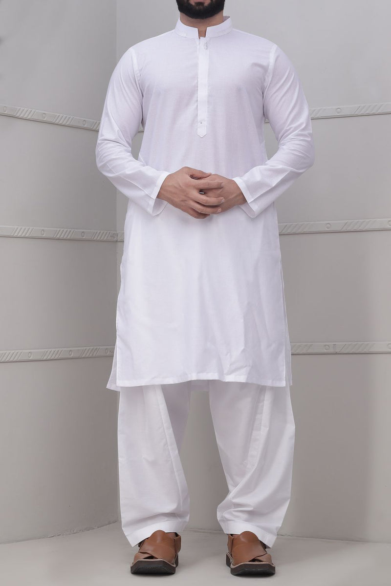 White Kurta for Men RK-40243