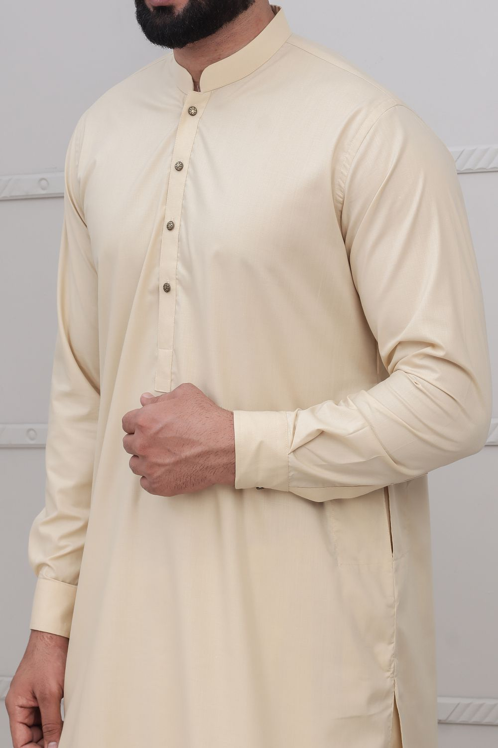 Sand Shalwar Qameez for Men RQ-40222