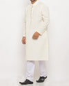 Image of Men Men Kurta in Cream SKU: RK-16105-Small-Cream