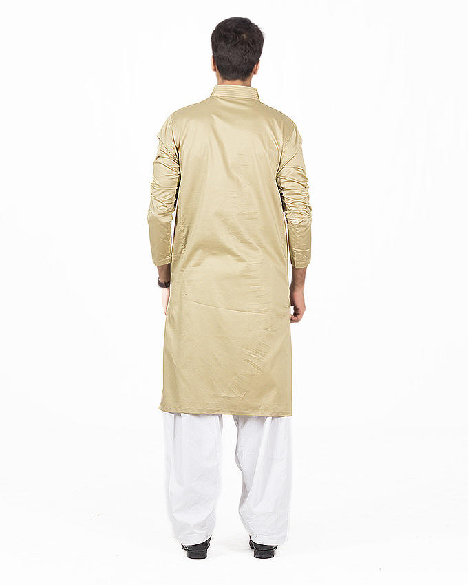 Pistachio Green Kurta For Men RK-16135