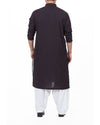 Image of Men Men Kurta in Black N Red SKU: RK-16178-Small-Black N Red