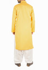 Image of Men Men Kurta in Canary Yellow SKU: RK-16236-Small-Canary Yellow