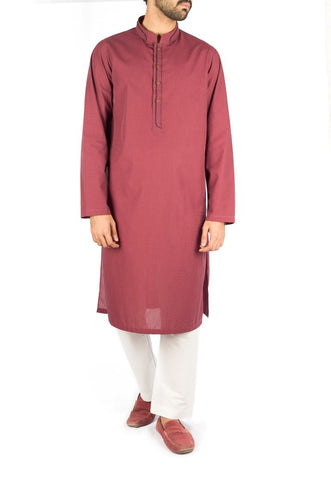 Mulberry Kurta with Applique work. Product Code RK-16256