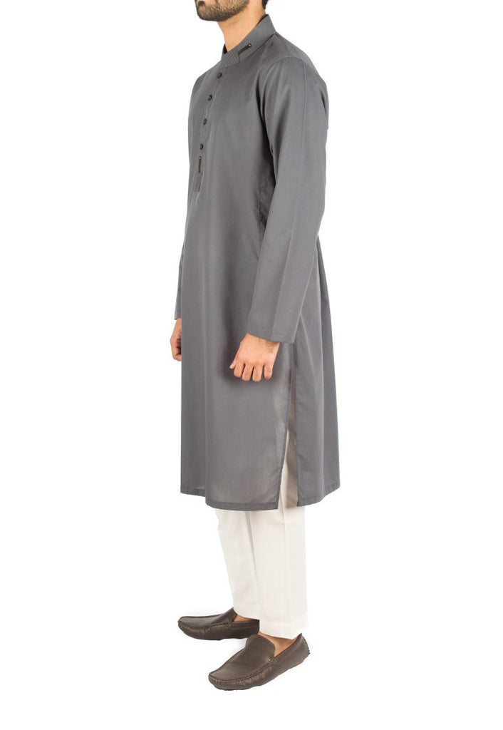 Air-force Grey Cotton Kurta. RK-16266