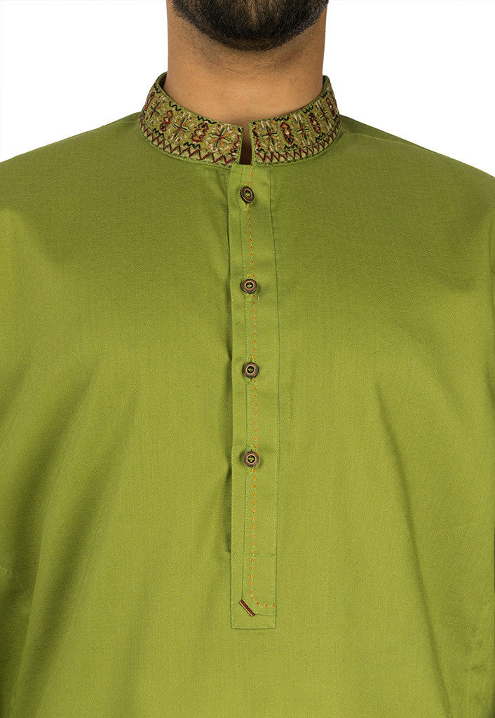 Image of   in Basil Green SKU: RK-17108-Large-Basil Green