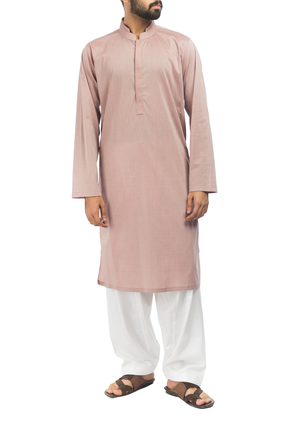 Image of Men Men Kurta Turkish Rose Kurta. RK-17127