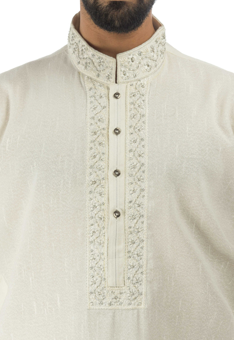 Off White Kurta. RK-17131