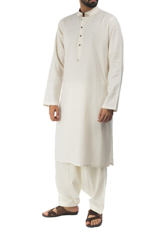 Cream Kurta. RK-17142