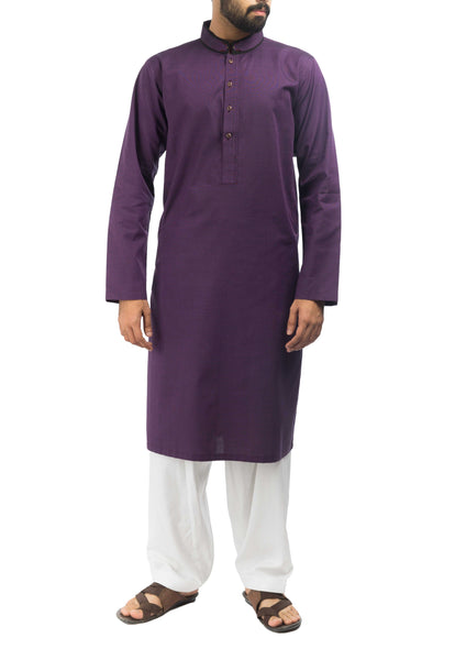 Image of Men Men Kurta Voilet Kurta. RK-17147