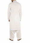 Image of Men Men Shalwar Qameez in Off-White SKU: RQ-16269-Small-Off-White