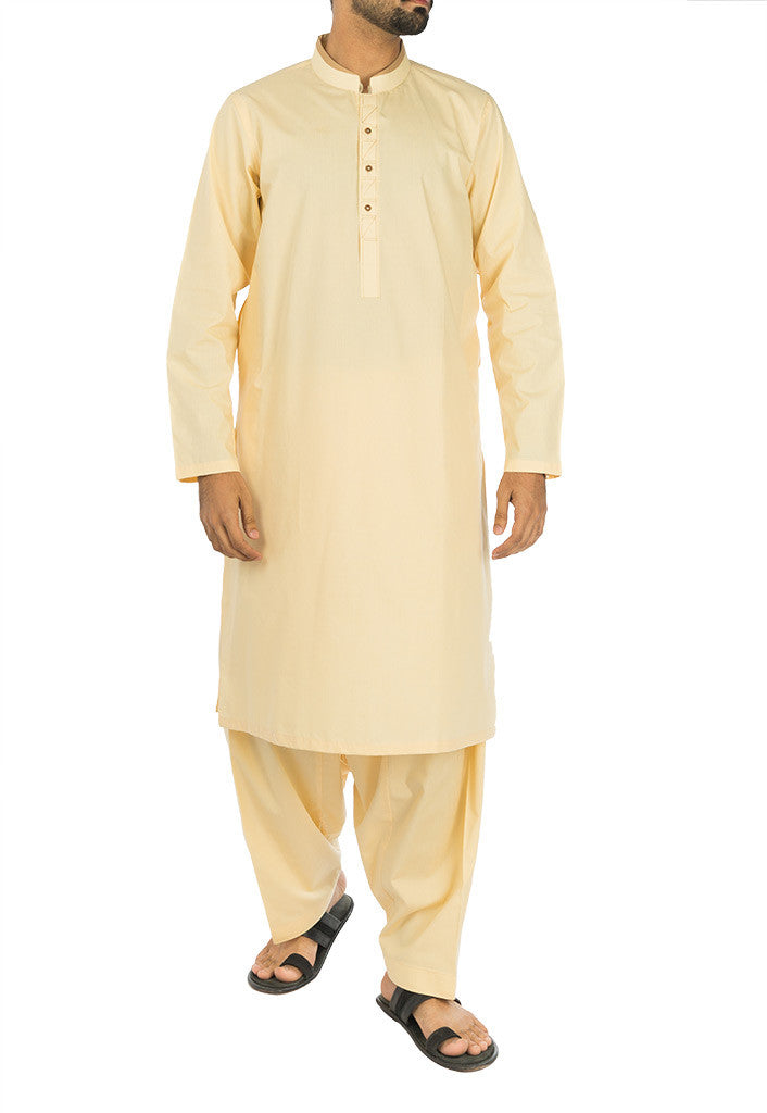 Cool Yellow Shalwar Qameez Suit. RQ-17115