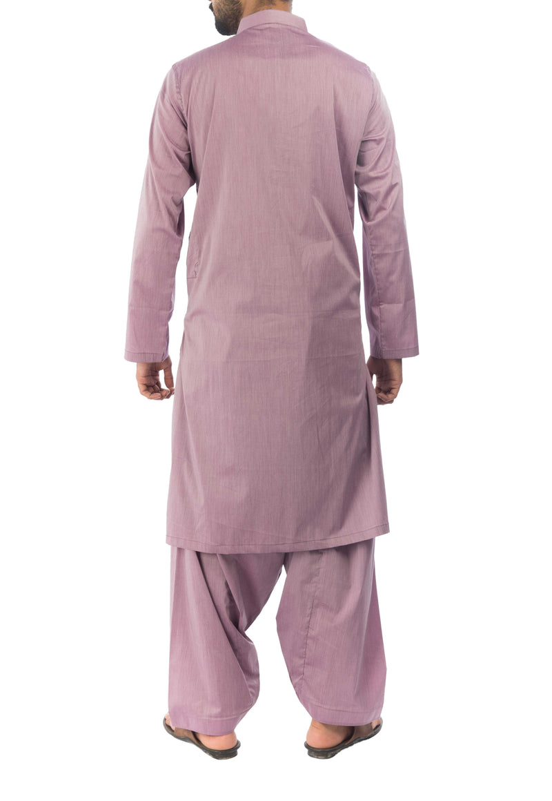 Image of Men Men Shalwar Qameez in Mulberry SKU: RQ-17140-Small-Mulberry