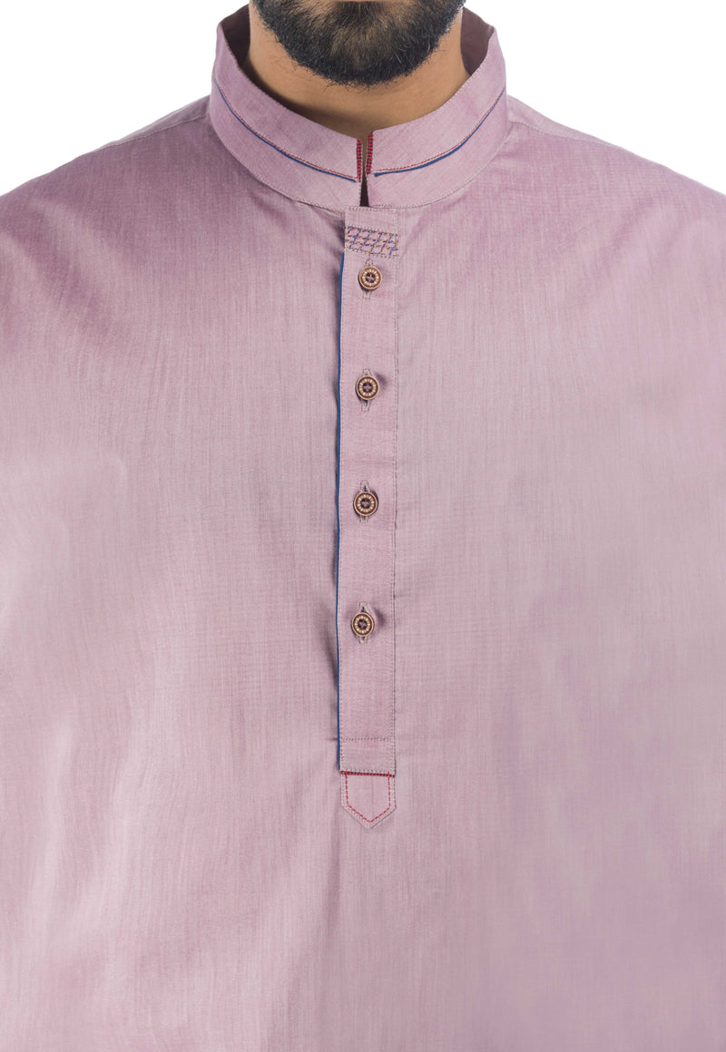Image of Men Men Shalwar Qameez in Bright Lilac SKU: RQ-17141-Small-Bright Lilac