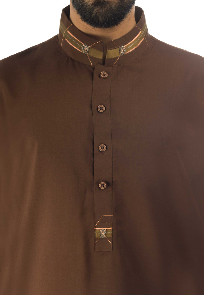 Image of Men Men Shalwar Qameez in Default Color SKU: RQ-17145-Small-Default Color