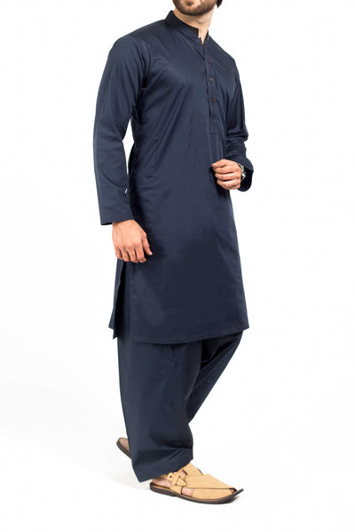 Royal Blue  Shalwar Qameez Suit. RQ-39112