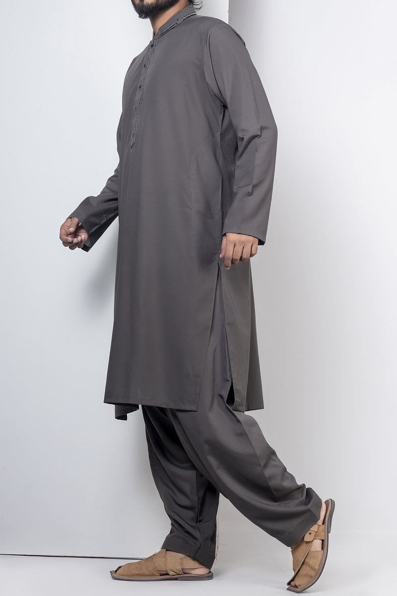 Cet Grey Shalwar Qameez For Men RQ-41117