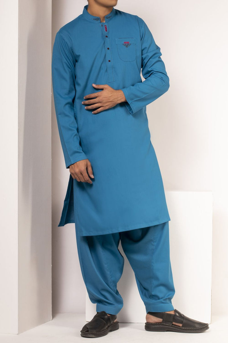Ocean Blue Qameez Shalwar for Teens BQ-41514