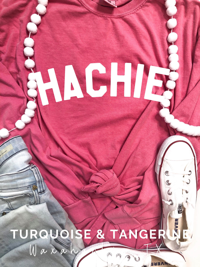 Hachie Long Sleeve T-Shirt in Watermelon Preorder