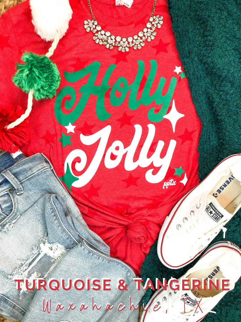 Holly Jolly Stars T-Shirt