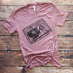 Mix Tape Love Songs T-Shirt Preorder