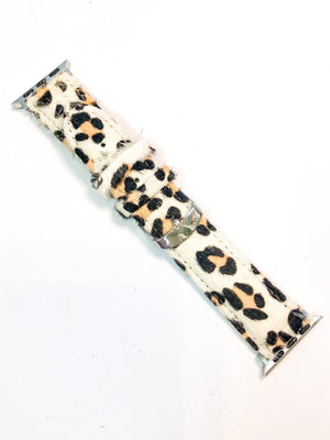 Snow Leopard Watch Band