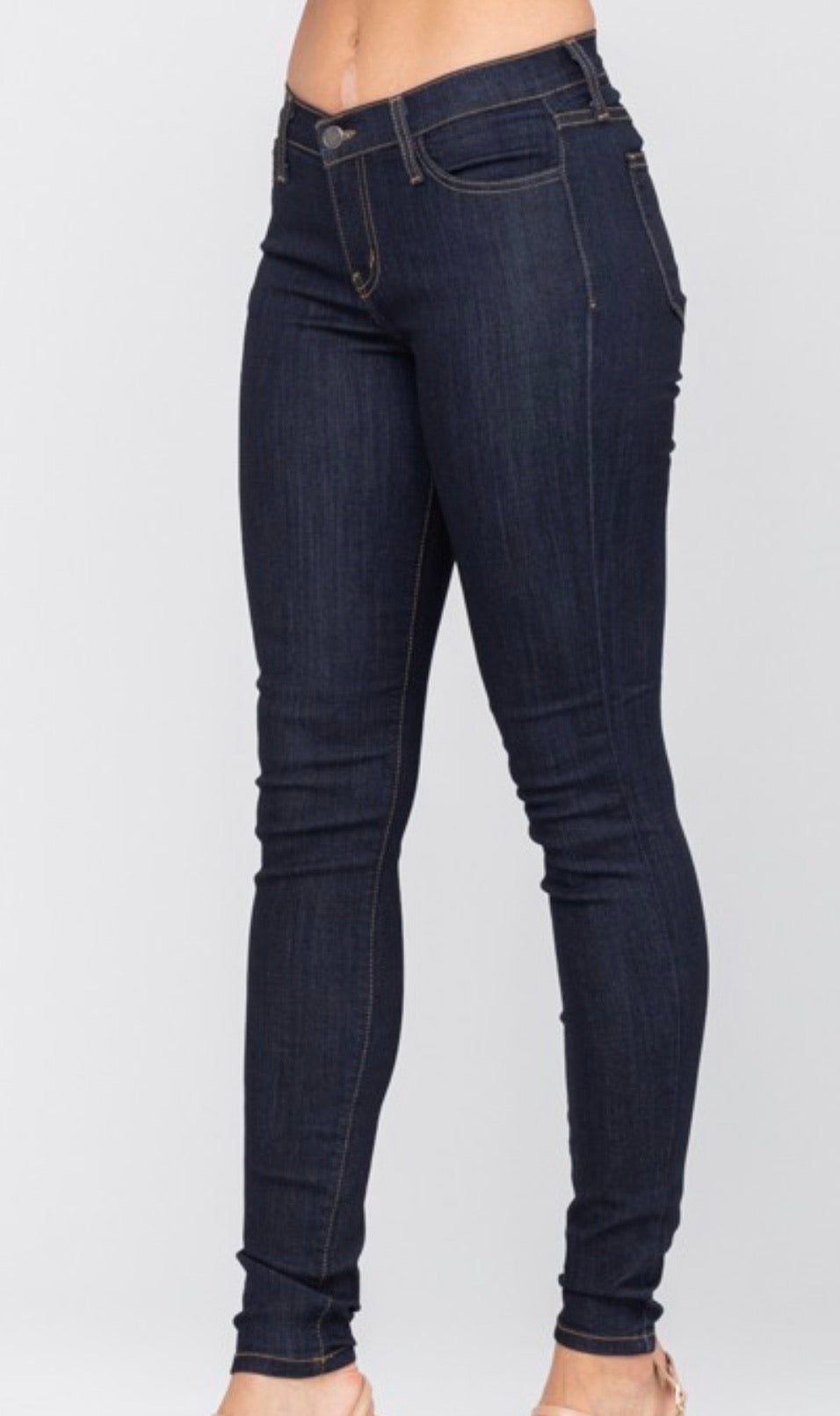 Classic Wash Skinny Judy Blue Jeans
