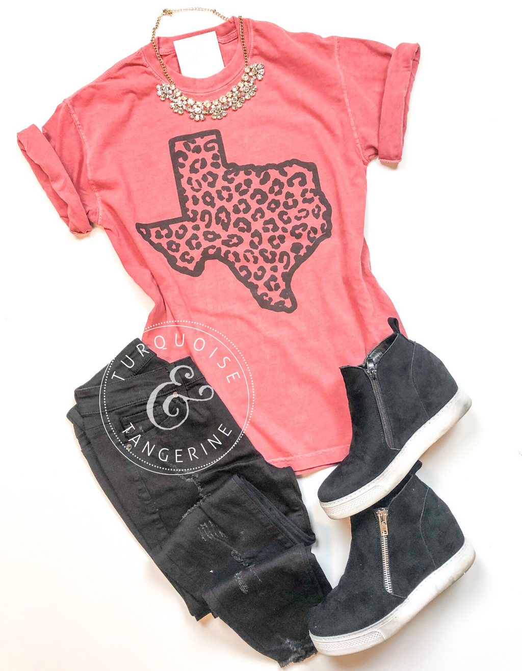 Leopard Texas T-Shirt