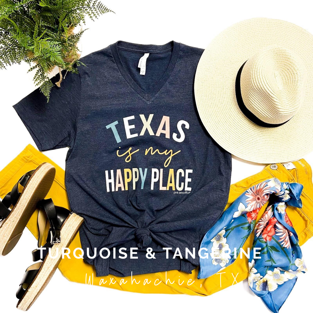 Texas is My Happy Place T-Shirt