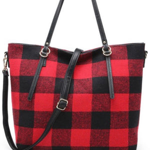 Plaid Tote Bag PREORDER