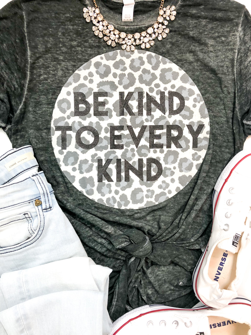Be Kind To Every Kind Burn Out T-Shirt Preorder
