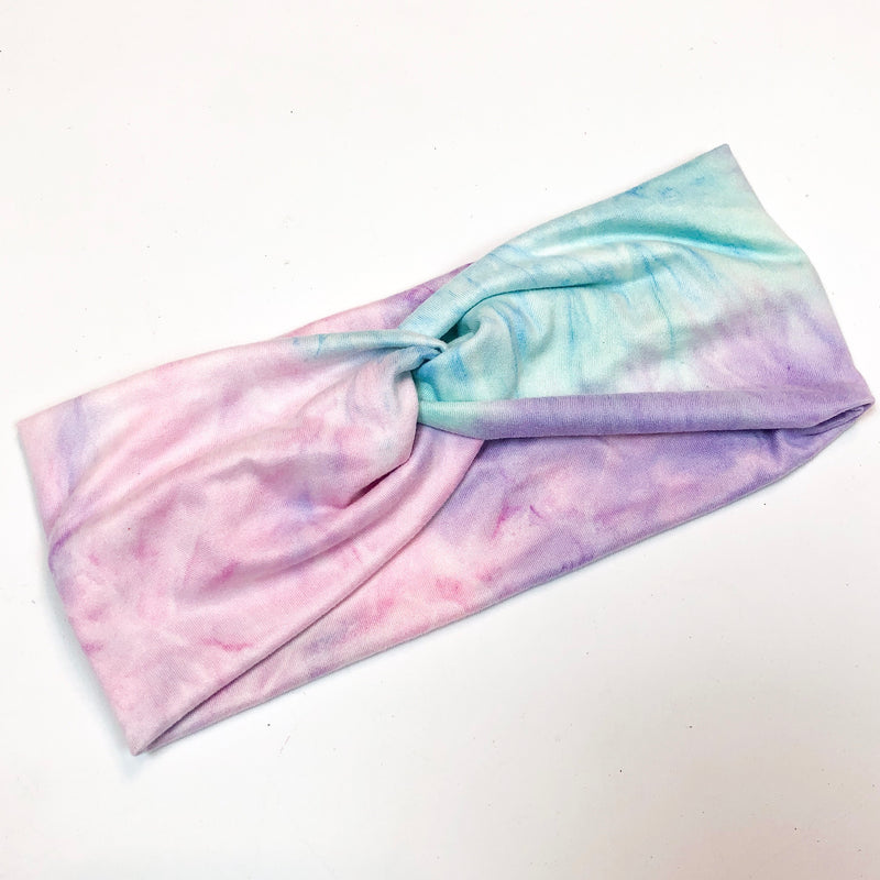 Mint Tie Dye Head Wrap