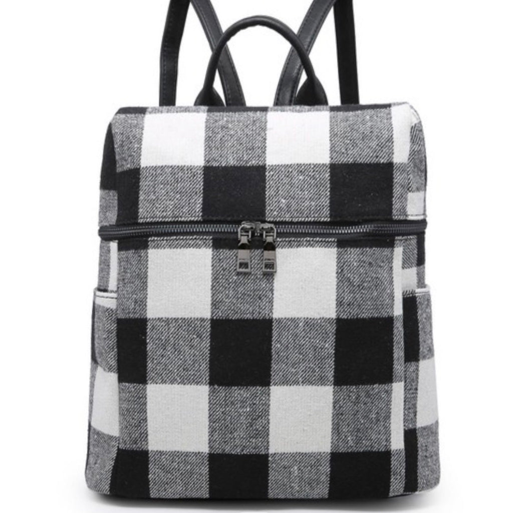Plaid Backpack PREORDER