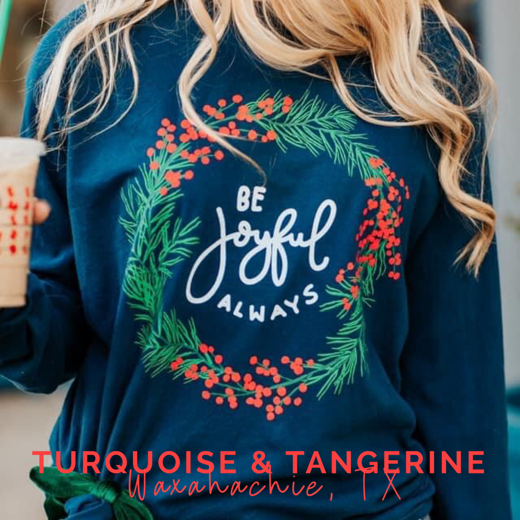 Be Joyful Christmas Shirt