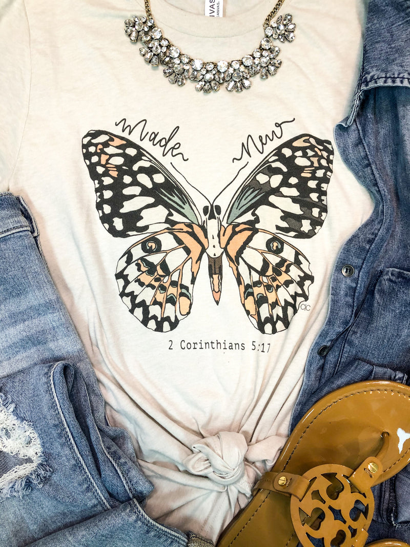 Made New Butterfly T-Shirt
