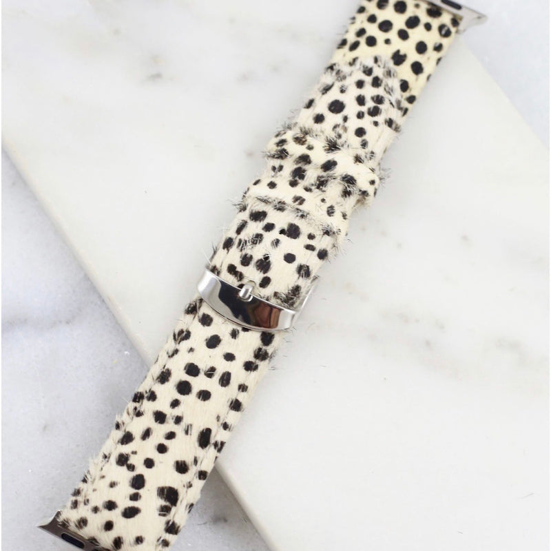 Ivory Dots Watch Band 38 mm