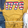 1776 Distressed Mustard T-Shirt Preorder