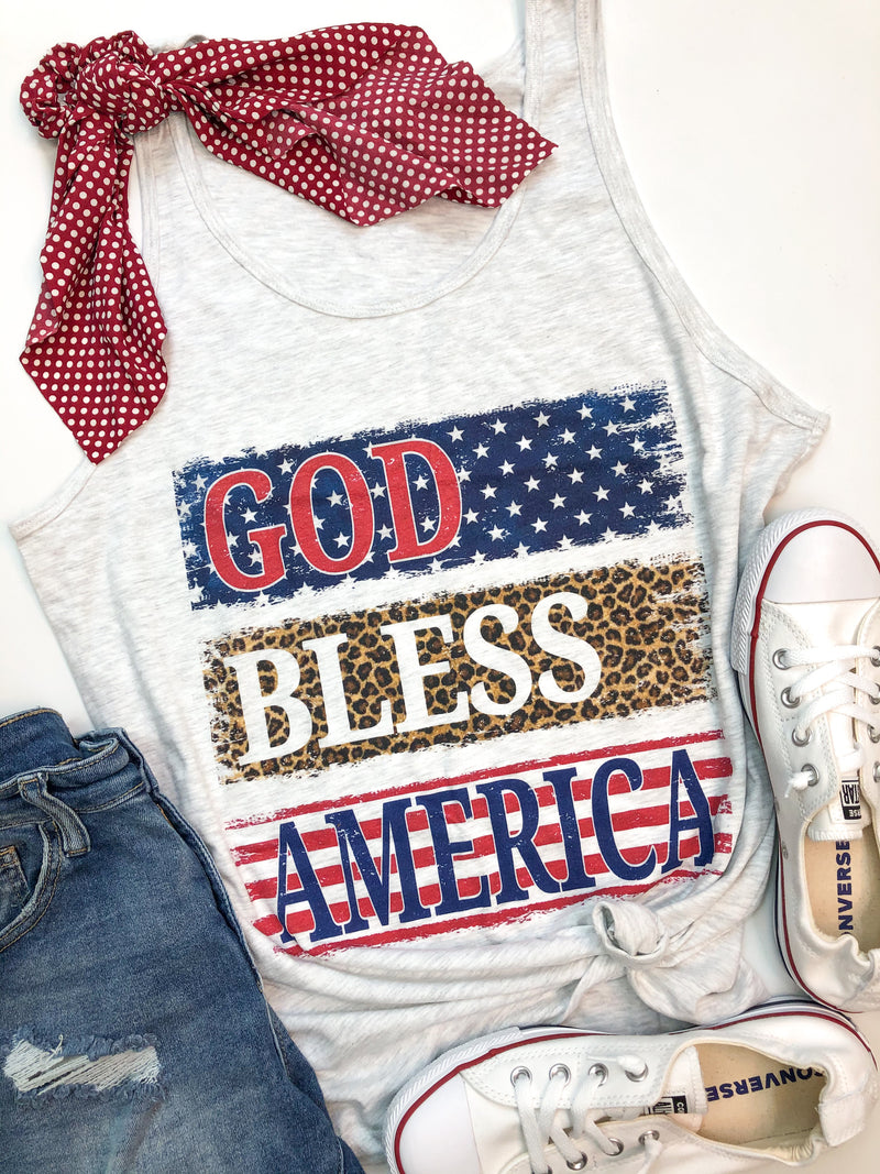 God Bless America Tank PREORDER