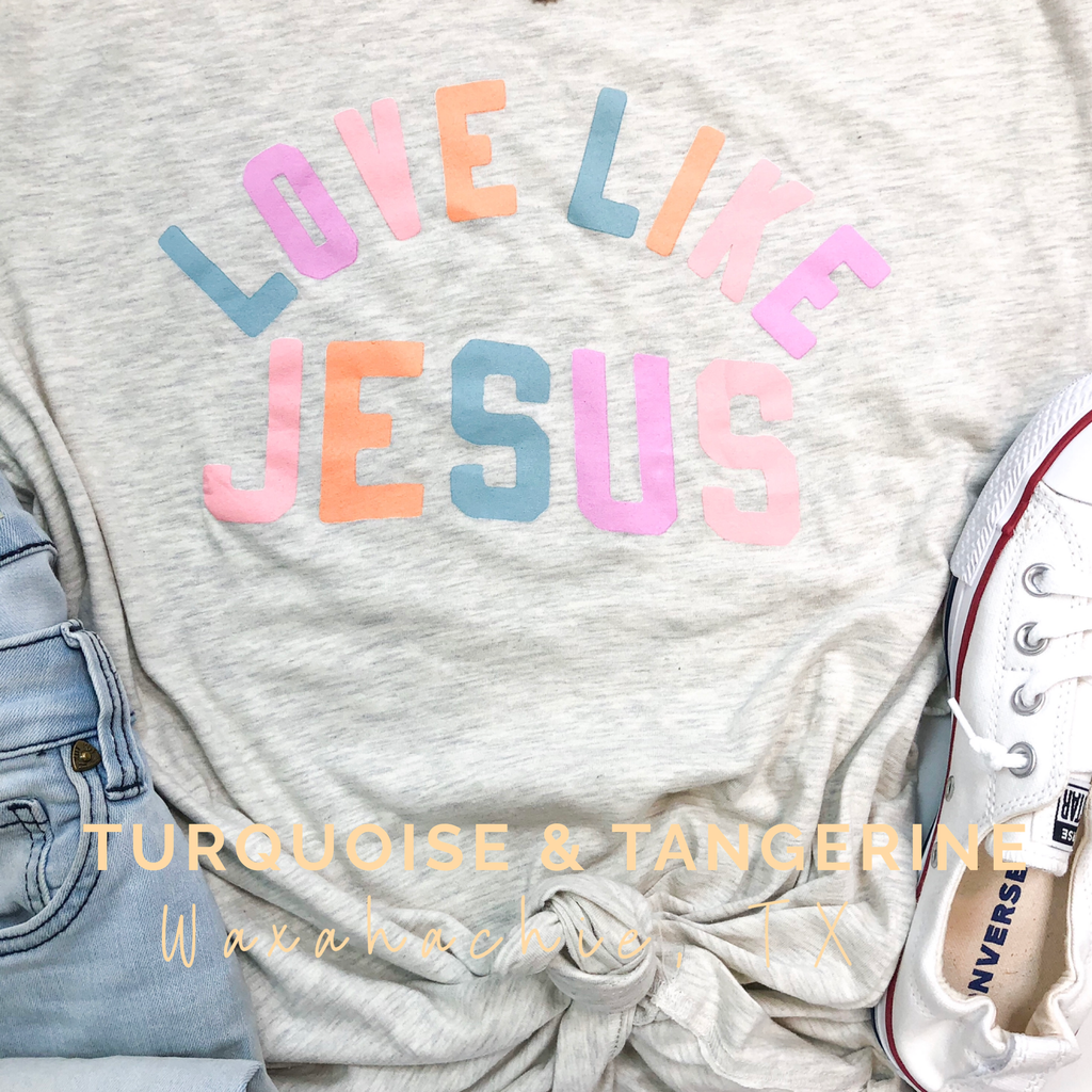 Love Like Jesus Natural T-Shirt