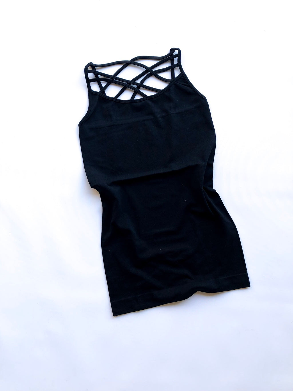 Cage Cami in Black
