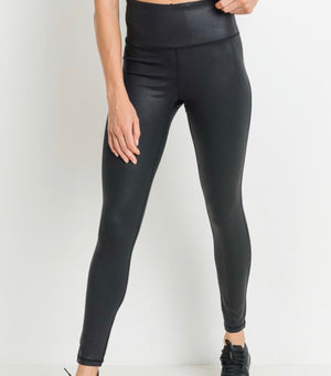 High Waist Black Leggings PREORDER