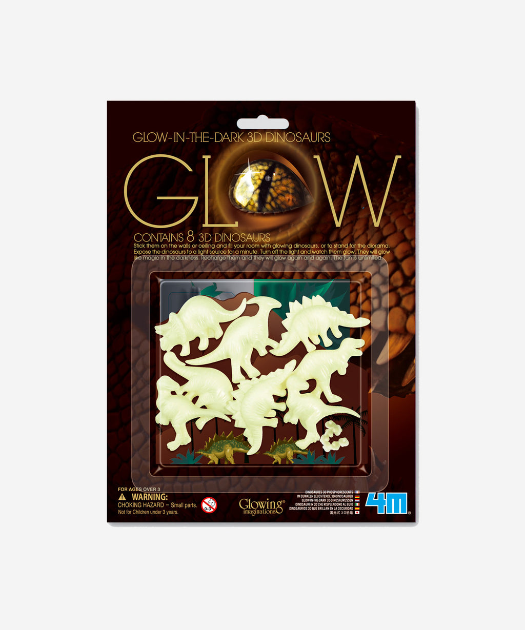 4M - Glow In The Dark 3D Dinosaurs