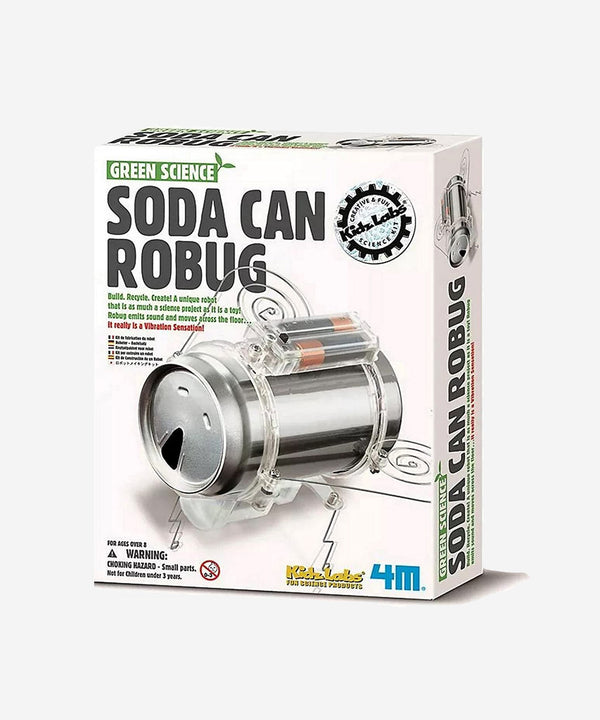 4M - Green Science - Soda Can Robug