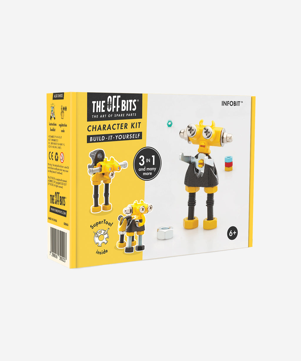 The OffBits - Character Kit 3 in 1 - InfoBit