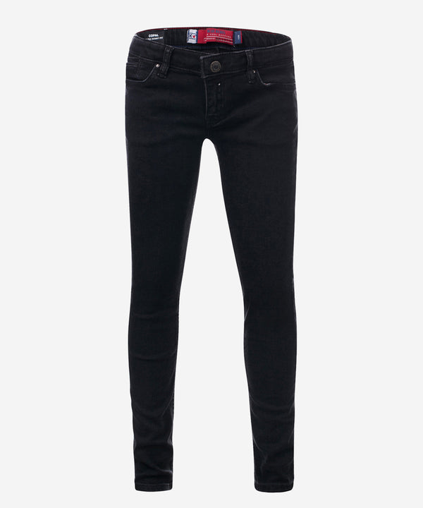 BLUE REBEL GIRLS JEANS COPAL ULTRA SKINNY FIT BLACK WASH