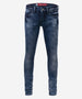 BLUE REBEL GIRLS JEANS PYROPE COMFY SKINNY FIT BLUE WASH