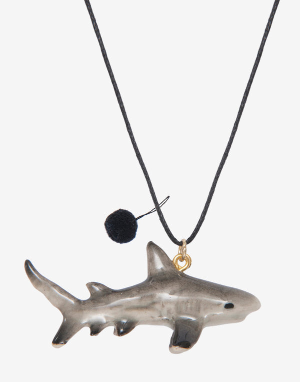 A Mini Penny - Tiger Shark necklace - beetlesandbugs.com