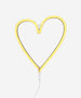 A Little Lovely Company - Neon Style Light Heart Yellow