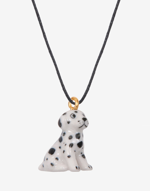 A Mini Penny MINIature Dotted Dog Necklace